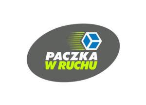 Logo Paczka w RUCHU kurier