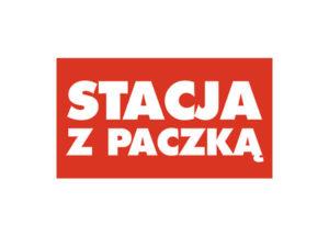 Logo Stacja z paczką kurier