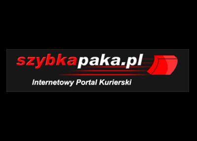 Logo brokera kurierskiego szybkapaka.pl
