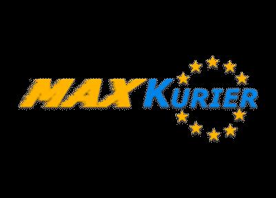 Logo brokera kurierskiego MaxKurier
