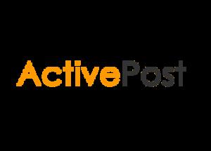 Logo brokera kurierskiego activepost.pl