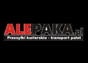 Logo brokera kurierskiego alepaka.pl