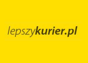 Logo brokera kurierskiego lepszykurier.pl