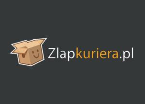 Logo brokera kurierskiego zlapkuriera