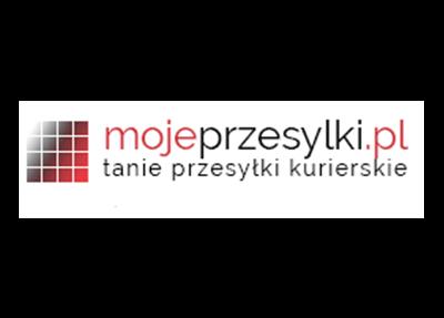 Logo brokera kurierskiego mojeprzesylki.pl