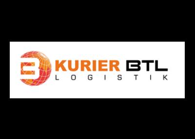 Logo brokera kurierskiego KURIER BTL