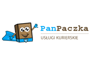 Logo brokera kurierskiego PanPaczka