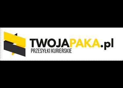 Logo brokera kurierskiego TWOJAPAKA.pl