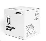 opakowania DHL extreme urgent