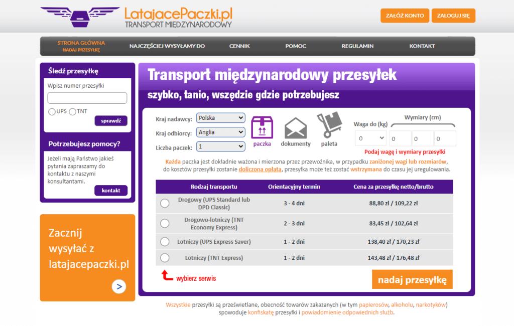 LatajacePaczki.pl www