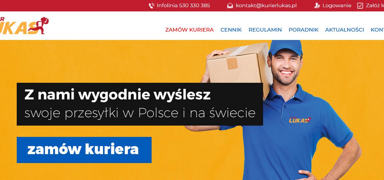 Nowy broker kurierlukas.pl